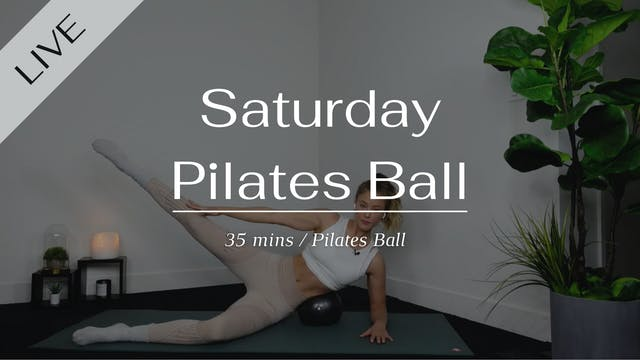 Full body with the Pilates Ball