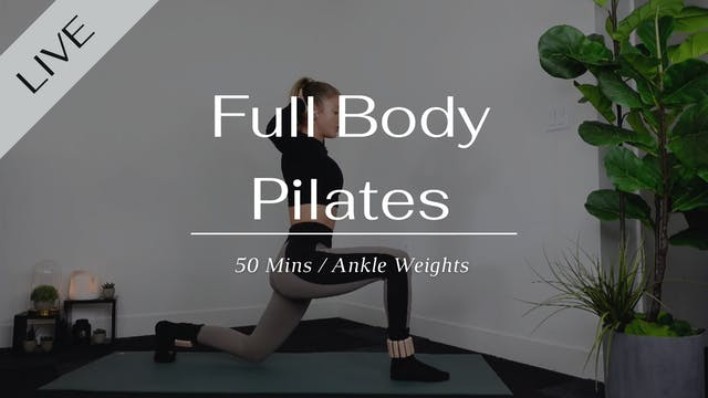 Saturday Full body Workout