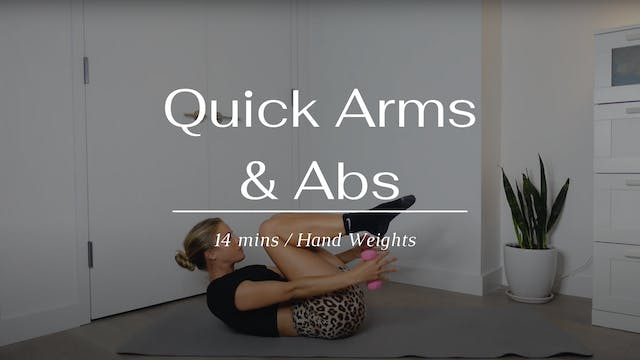 Quick Arms & Abs