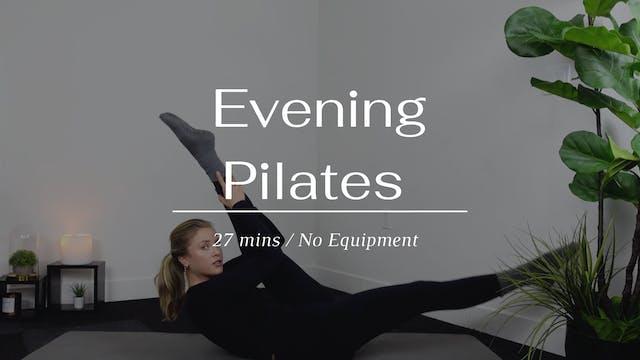 Evening Pilates Flow