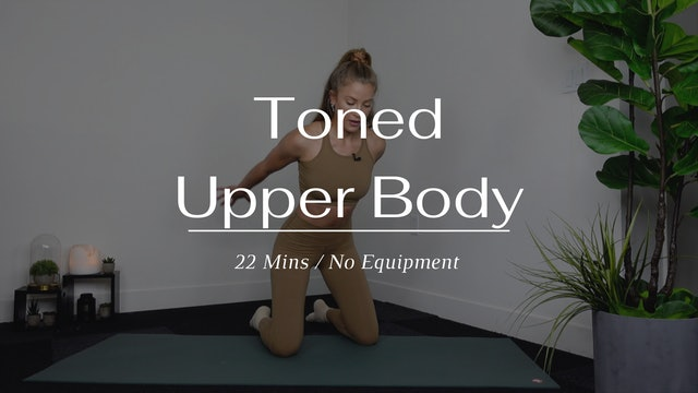 Toned Upper Body