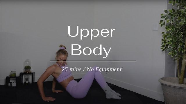 25 Min Upper Body