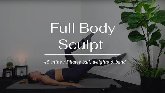 40 Min Full Body Sculpt