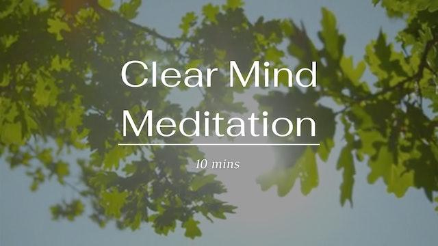Clear Mind Meditation