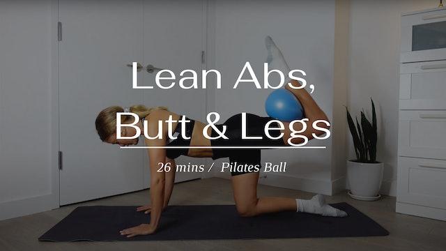 Lean Abs, Butt & Legs