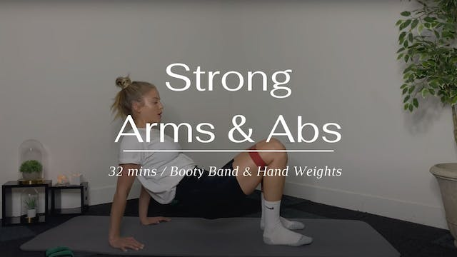 Strong Arms & Abs (Wednesday)