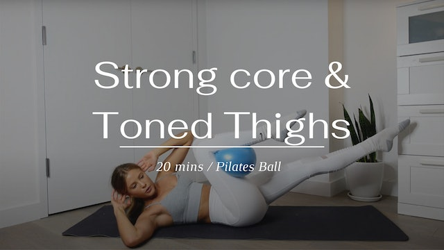 Strong Core And Toned Inner Thighs