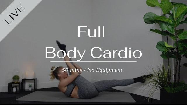 Full Body Pilates Cardio