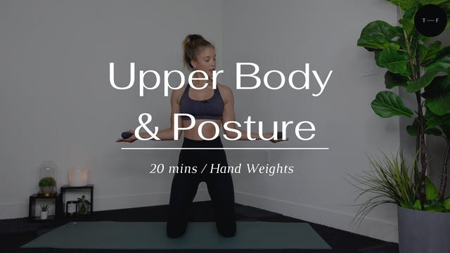 Upper Body & Posture
