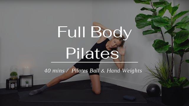 40 min Full Body Pilates