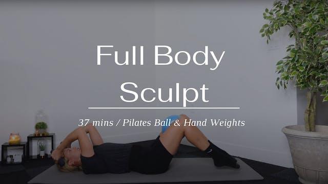Full Body Sculpt x Pilates Ball