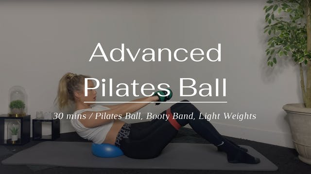 Advanced Pilates Ball