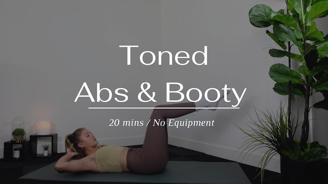 Toned Abs & Butt
