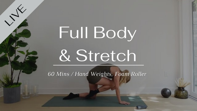 Full body and stretch