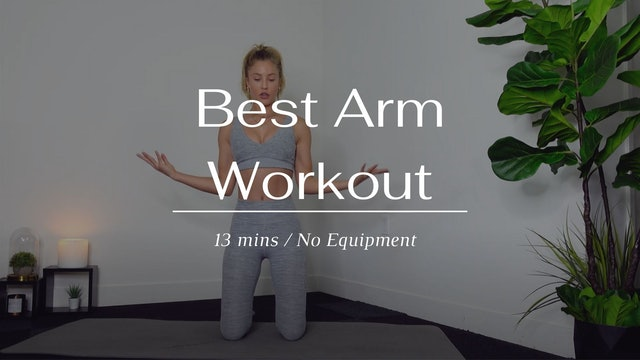 Best Arm Workout