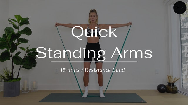 Quick Standing Arms