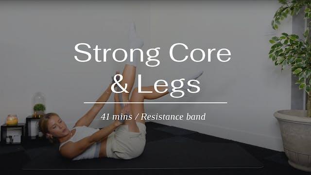 Strong Core & Legs (Thursday)