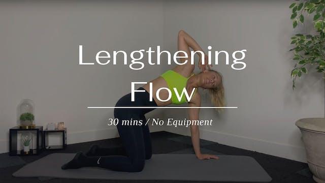 Full Body Lengthening Flow