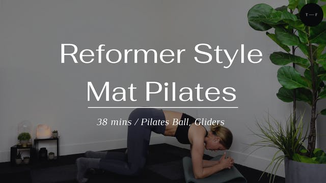 Reformer Style Mat Pilates