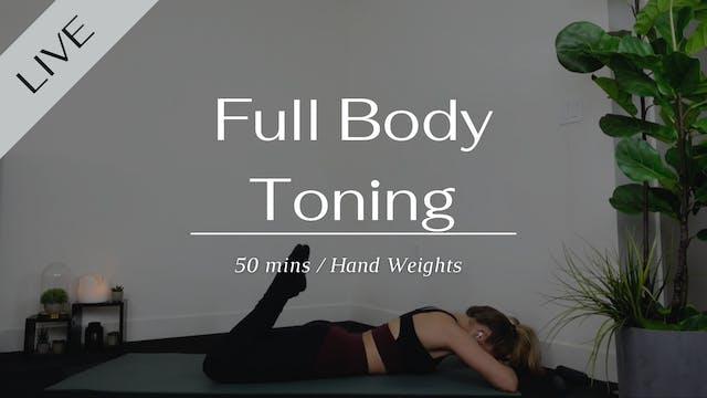 Sunday Full Body Toning