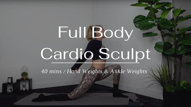 Full Body Cardio Sculpt