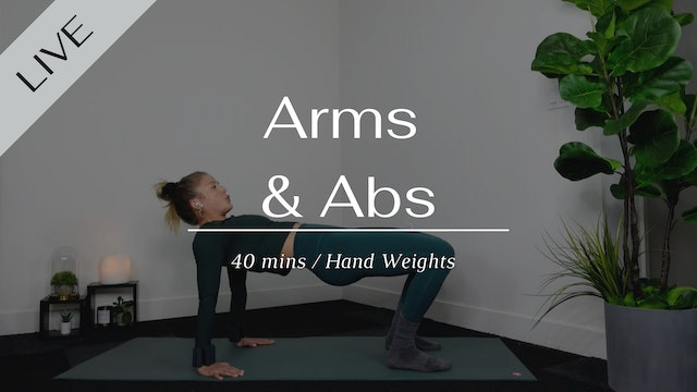 LIVE Abs & Arms
