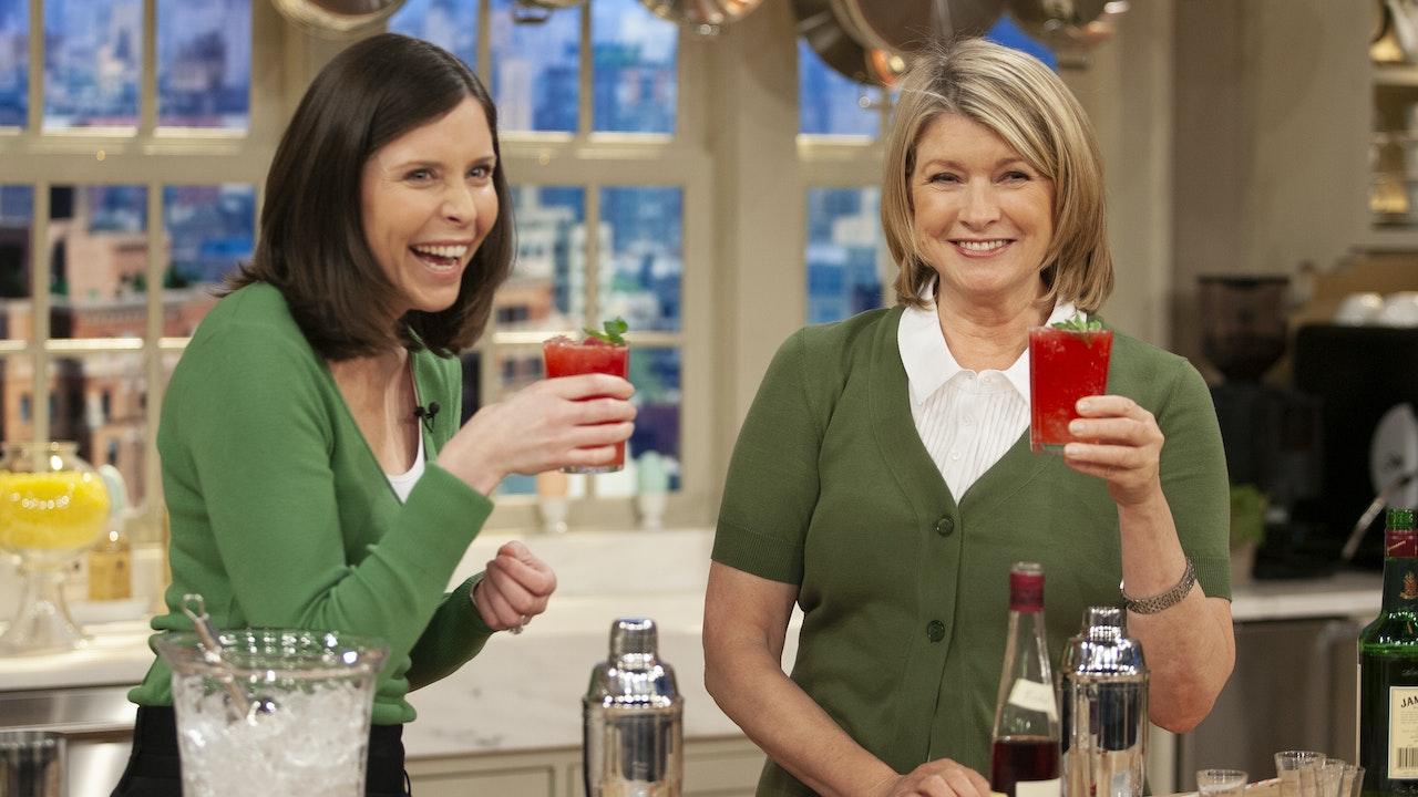 Celebrate 2020! Martha's Favorite Cocktails & Small Bites