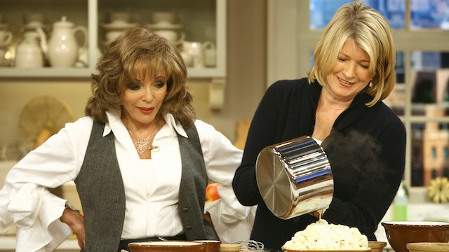 MSS S2 E044 Thanksgiving Side Dishes with Joan Collins & How to Set Up a Buffet
