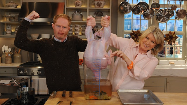 MSS S6 E043 Roast Turkey and Table Settings with Jesse Tyler Ferguson
