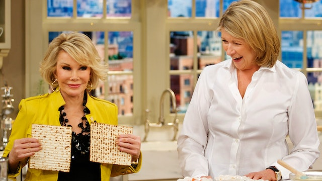 MSS3 E164 Passover Dinner and Desserts with Joan Rivers