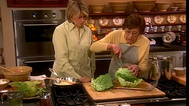 MSL Season 7 Episode 165V Christmas & Stuffed Cabbage with Mrs. Kostyra