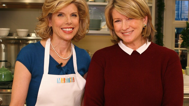 MSS S1 E059V 12 Days of Christmas; Candy-Stripe Cookies with Christine Baranski