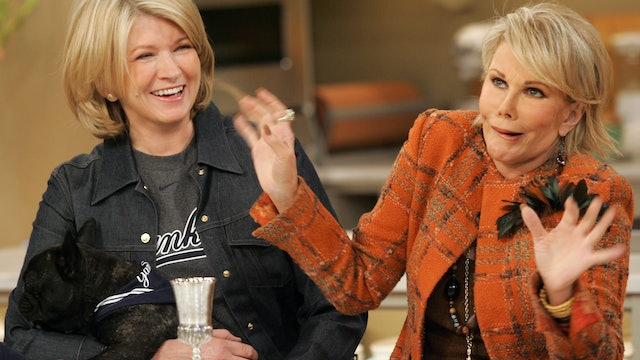 MSS1 E136 Passover Dinner with Joan Rivers and Jacques Torres' Chocolate Bunnies