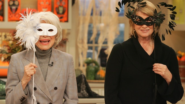 MSS1 E031 Halloween Masks with Carol Channing; Fall Side Dishes with Sarah Carey