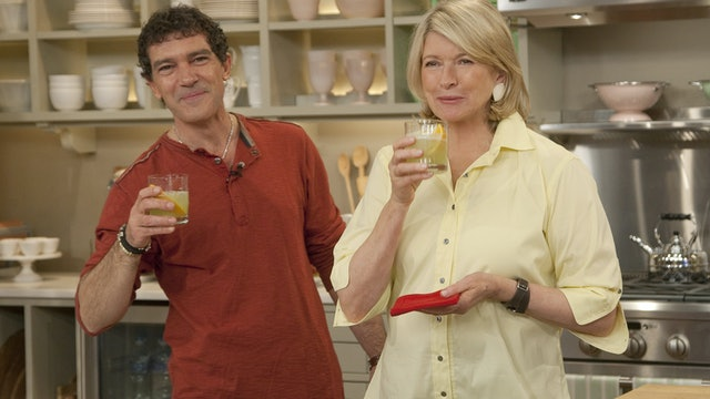 MSS5 E158 Summer Cocktails & Crafts with Emma Thompson & Antonio Banderas