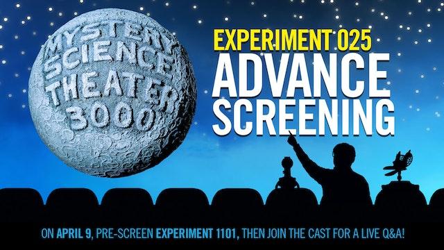 EXPERIMENT 025