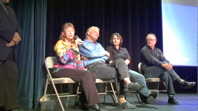 Q&A After Screening at Borrego Springs Performing Arts Center