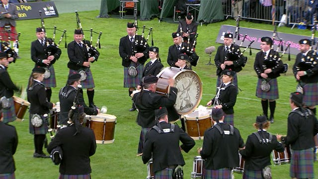 March, Strathspey & Reel (MSR) Final with BBC commentary