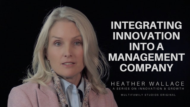 Integrating Innovation Into a Management Company