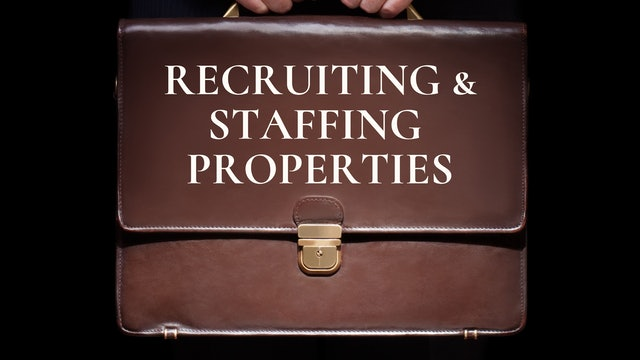 Recruiting & Staffing Properties