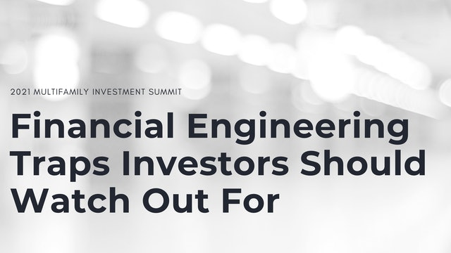 Financial Engineering Traps Investors Should Watch Out For