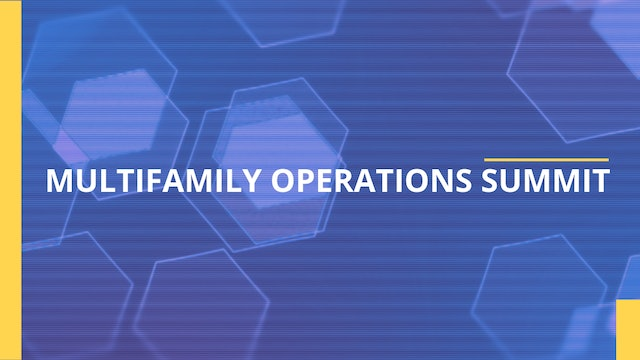 2021 Multifamily Operations Summit