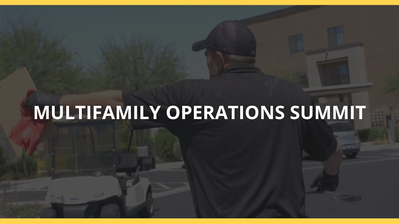 Multifamily Operations Summit June 2020