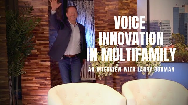 Voice Innovation in Multifamily