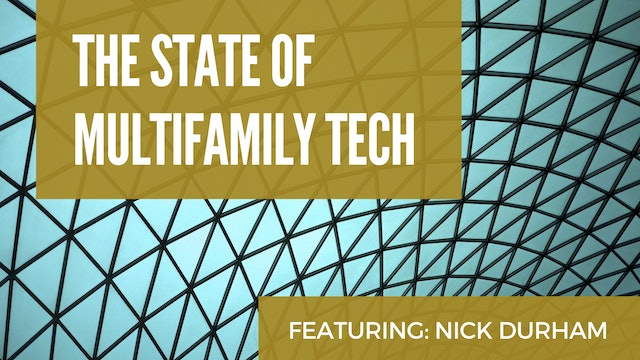 The State of Multifamily Tech