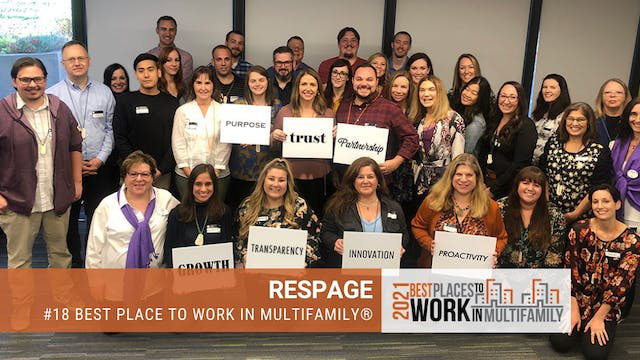 #18 Best Places to Work Multifamily® ...