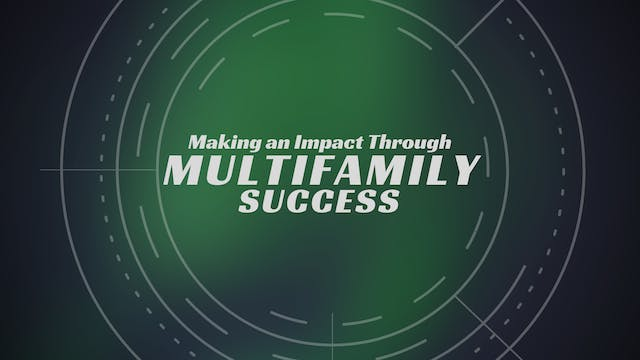 Making an Impact through Multifamily ...