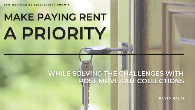 Make Paying Rent a Priority: Solve the Challenges with Post-Move-Out Collections
