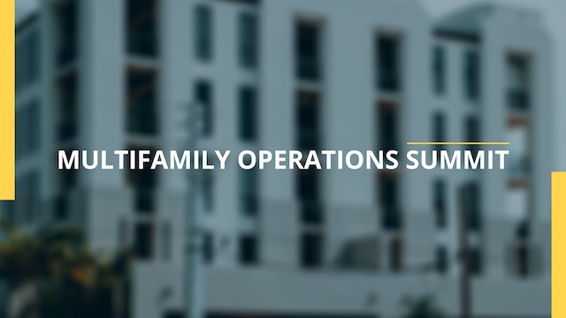 2020 Multifamily Operations Summit