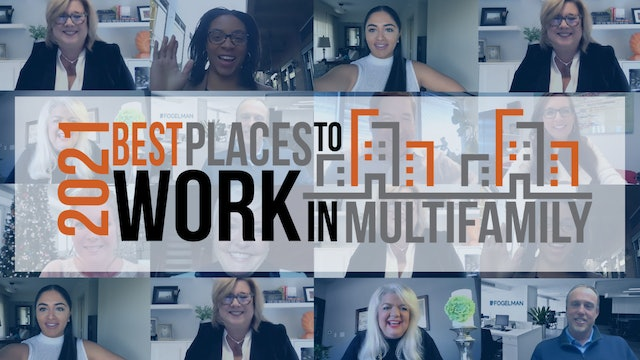 2021 Best Places to Work Multifamily® Full Show